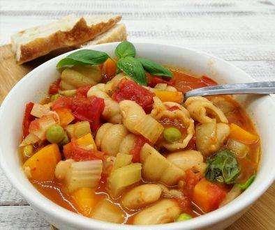 Chunky Minestron Soup